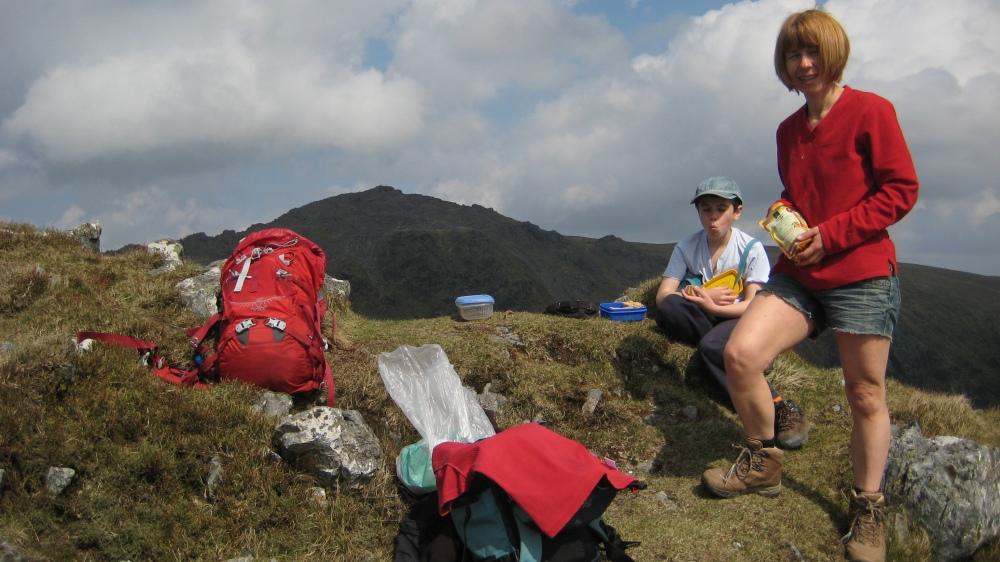 D & J on Craig Cau Summit